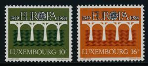 Luxembourg 708-9 MNH EUROPA