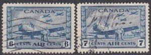 Canada Sc #C7-C8 Used