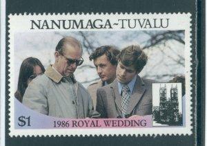 Tuvalu - Nanumaga 72b  MNH cgs