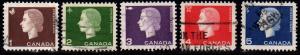 Canada - #401 - 404 Queen Elizabeth II Cameo  - Used