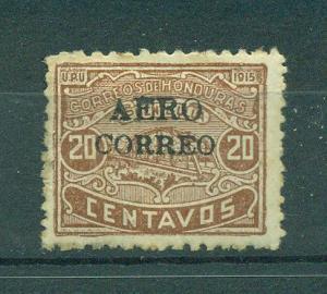 Honduras sc# C6 used cat value $175.00