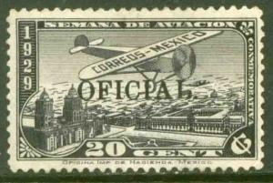 MEXICO CO11, OFFICIAL AIR MAIL, MINT, NH. F-VF.