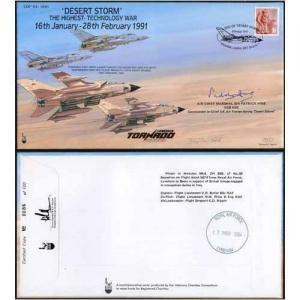 COF54 Desert Storm the Highest Tech War Signed Craig Of Radley 100 Produced (M)