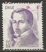 CHILE 478 VFU J1007-3