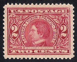 370 2 cents Alaska Stamp Mint OG NH EGRADED SUPERB 98 XXF