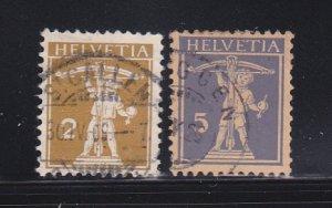 Switzerland 146, 148 U William Tell's Son (C)