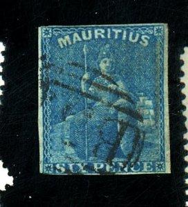 MAURITIUS 18 USED FINE Cat $58