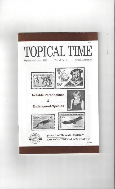 Topical Time Magazine SEP-OCT 1999  Number 297, ATA Journal