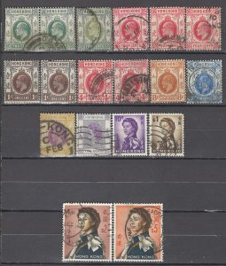COLLECTION LOT OF # 975 HONG KONG 18 STAMPS 1904+ CLEARANCE CV+$21