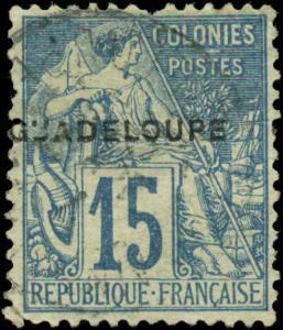 Guadeloupe Scott #19 Used