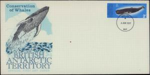 British Antarctic Territory, Worldwide First Day Cover, Whales