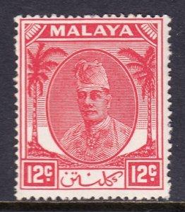 Malaya (Kelantan) - Scott #67 - MH - SCV $4.50
