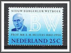 Netherlands #480 New Civil Code MNH
