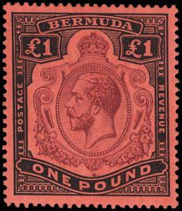Bermuda Scott 40-54 Gibbons 44a-55 Mint Set of Stamps