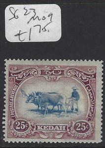 MALAYA KEDAH  (PP0502B)  COW  25C  SG 23   MOG