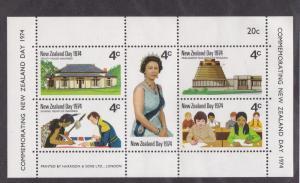 New Zealand  # 552, New Zealand Day, Queen Elizabeth, NH, 1/2 Cat.
