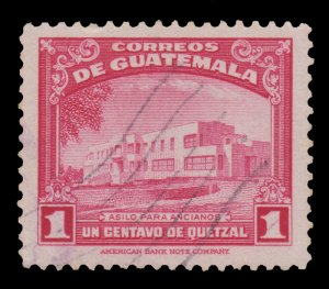 GUATEMALA STAMP 1942 SCOTT # 305. USED. # 1