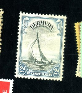BERMUDA #109 MINT FVF OG LH Cat $55
