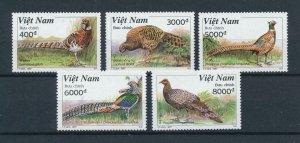 [102957] Vietnam 1997 Birds vögel oiseaux pheasant  MNH