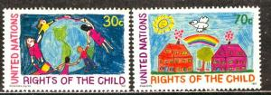 United Nations N.Y.; 1991: Sc. # 593-594: **/MNH Cpl. Set