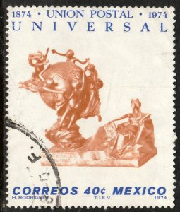 MEXICO 1070, Centenary Universal Postal Union USED. F-VF.(1307)