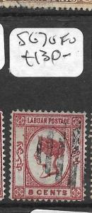 LABUAN (P3103B)  QV CAMEO 8C  SG 7  VFU