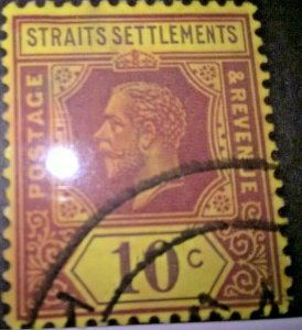 Straits Settlements King George V # 191a used