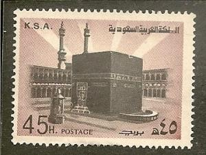Saudi Arabia        Scott 699  Ka'aba     Used
