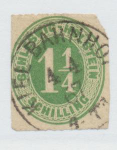 Schleswig-Holstein (German State) Stamp Scott #4, Used - Free U.S. Shipping, ...