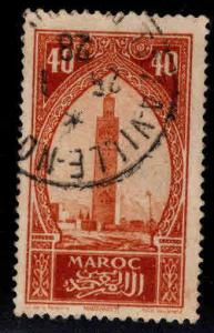 French Morocco Scott 102 used stamp