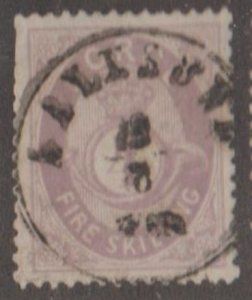 Norway Scott #19 Stamp - Used Single