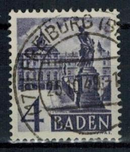 Germany - French Occupation - Baden - Scott 5N29