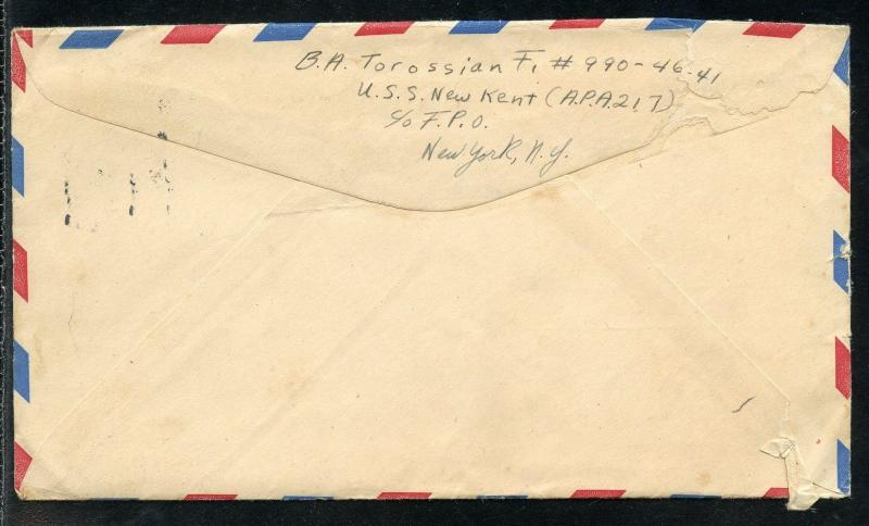 UNITED   STATES  1938 ISLIP TERRACE NY AIRMAIL WEEK MAY 15-21   COVER AS SHOWN
