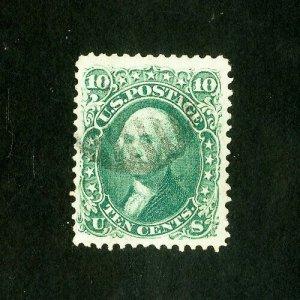 US Stamps # 68 Superb Blazing color gem used