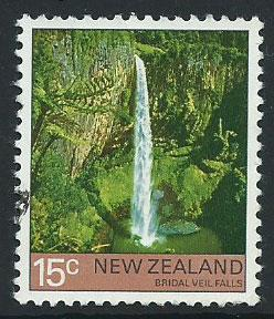 New Zealand SG 1123 Very Fine Used