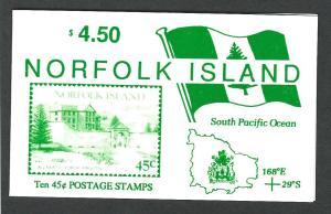 Norfolk Island MNH booklet  sc 533/ sg sb4