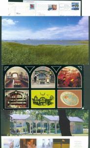 Sweden. 3 Postcard Used. 1983-99-08. Oresund Bridge, Vest Gotland. Stockholm.