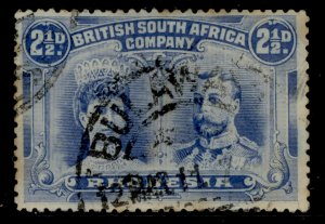 RHODESIA SG133, 2½d chalky blue, USED. Cat £24.