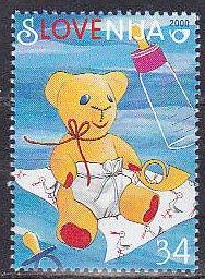 Slovenia 383 2000 Love Cpl MNH