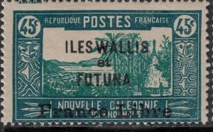 Wallis and Futuna 107 Mint 1941-3 SCV$ 90.00