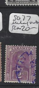 SARAWAK   (PP2008B)    2C SG 77  MUKAH IN VIOLET    VFU