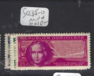 DOMINICAN REPUBLIC (P1010B)  SC C35-40    MNH