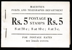 Mauritius, SG SB2, Intact Booklet