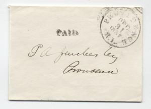 1857 Providence RI drop rate wrapper black CDS [4366.73]