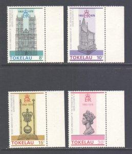 Tokelau Scott 61/64 - SG61/64, 1978 Coronation Anniversary Set MH*