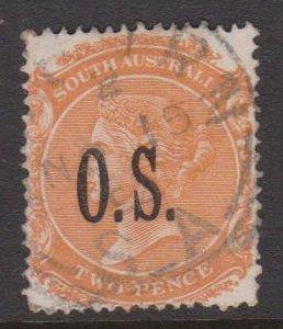 South Australia Sc#O63 Used Perf 15