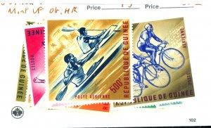 GUINEA #279-90 C44-6 MINT VF OG HR Cat $15