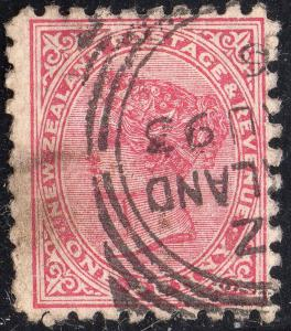 New Zealand Sc #61 W/ Advertisement on Reverse