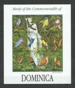 PK120 DOMINICA FLORA & FAUNA BIRDS 1SH MNH STAMPS