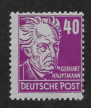 GERMANY - DDR SC# 10N40  AVF/MOG 1948